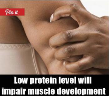 tanda kekurangan protein 2
