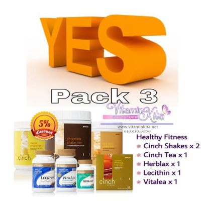 YES pack shaklee 3