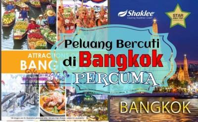 Peluang Bercuti Di Bangkok PERCUMA 2016