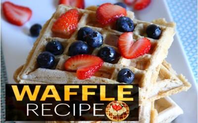 Resepi Waffle Sedap