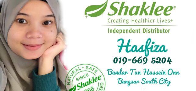 Pengedar Shaklee Bangsar South City dan Bandar Tun Hussein Onn