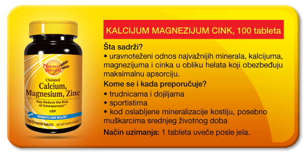 kalcijum magnezijum cink natural wealth