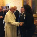 Francesco incontra la Federazione Uno di Noi
