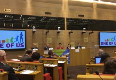 Uno di noi: a Parigi il terzo forum europeo