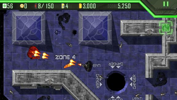 Alien Breed Playstation Mobile 001