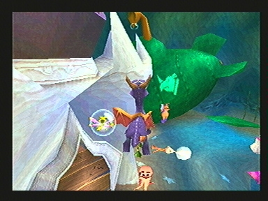 Spyro Year Of The Dragon - PS1