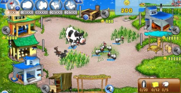 Farm Frenzy PSP Mini