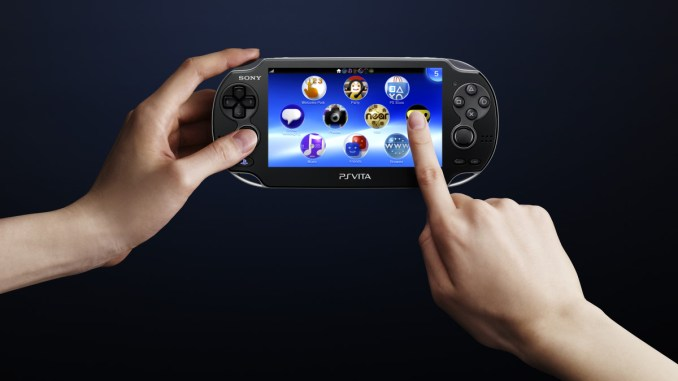 PS Vita - Front Touch Screen