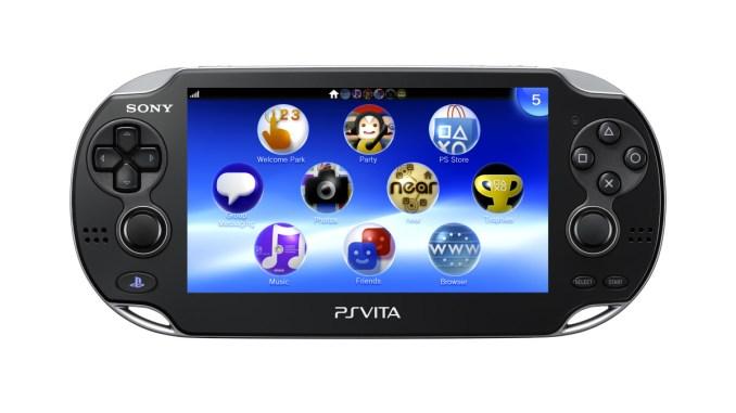 PS Vita - Front