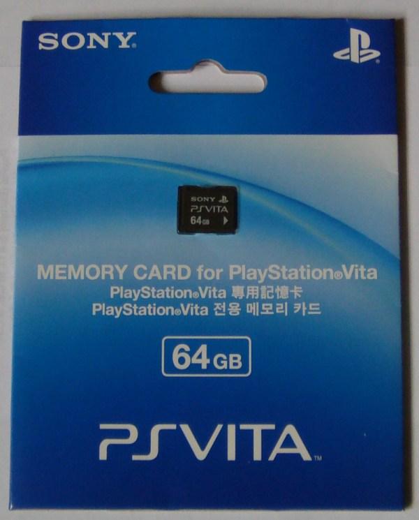 64Gb Memory Card PS Vita