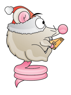 Mouse Bounce Christmas Competition Example