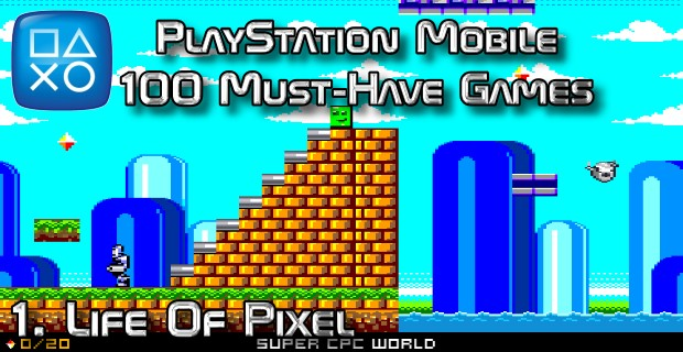 100 Best PlayStation Mobile Games 001 - Life Of Pixel