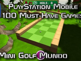 100 Best PlayStation Mobile Games 031 - Mini Golf Mundo