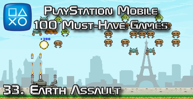 100 Best PlayStation Mobile Games 033 - Earth Assault