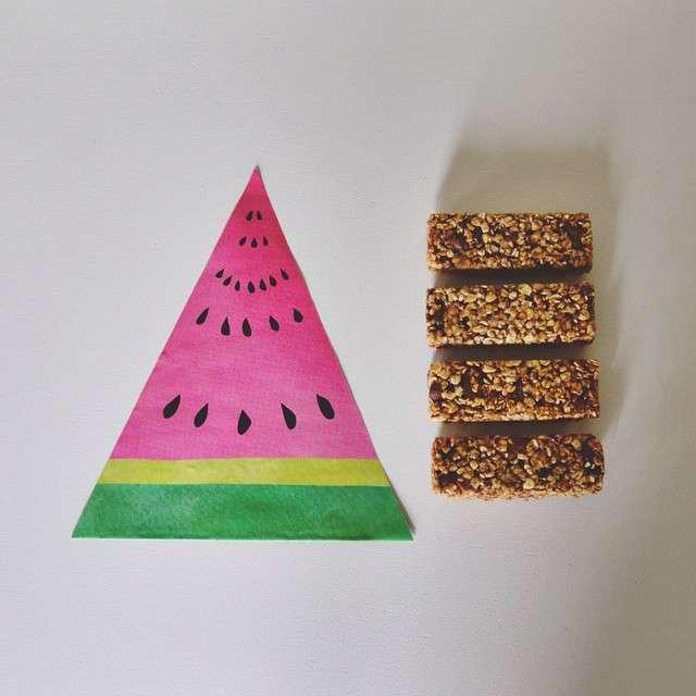 barrette cereali e frutta homemade