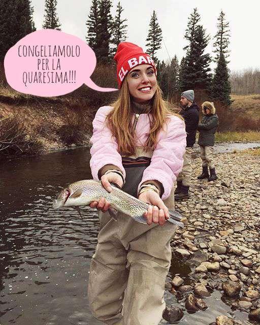 chiara ferragni pesce