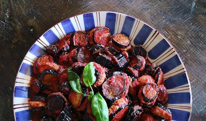 melanzane imbottite ricetta del cilento