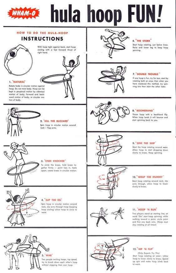 sport con l'hula hoop