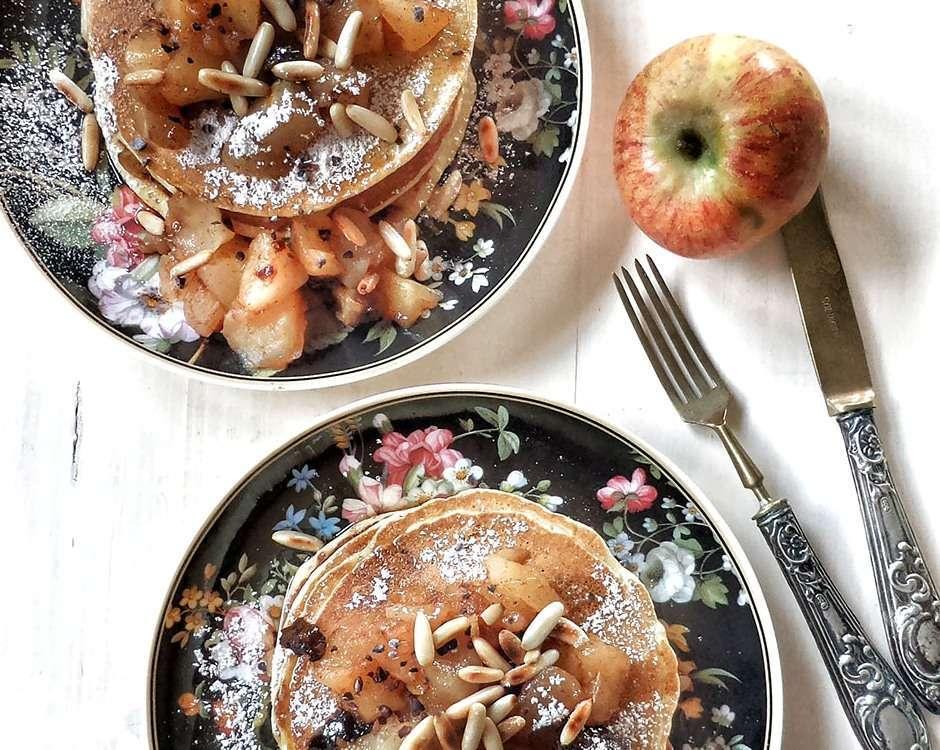 pancake allo strudel