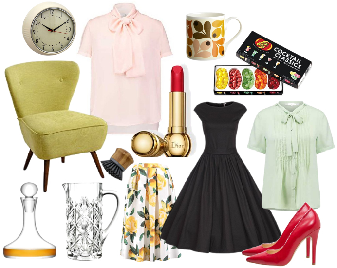 Mad Men mood shopping wishlist