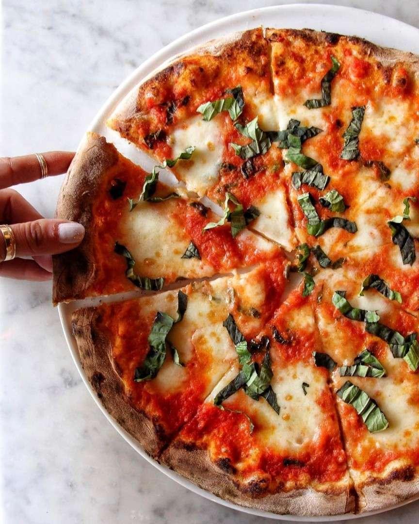 pizza a spicchi
