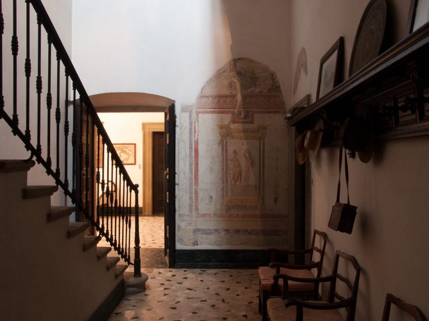 ingresso villa storica