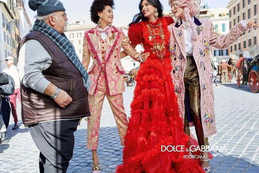 Dolce & Gabbana a Roma