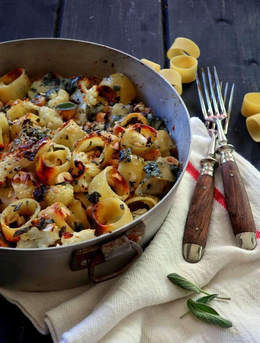pasta al forno vegetariana