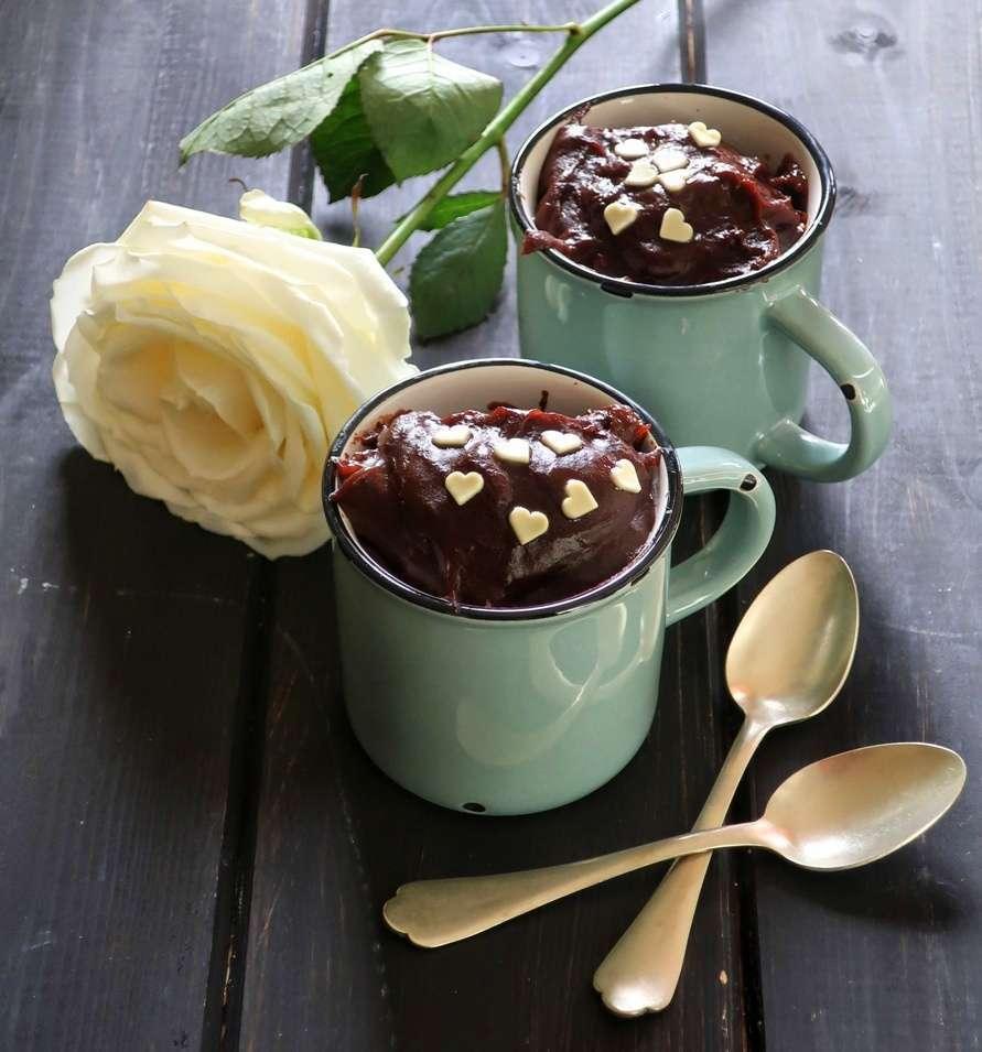 Budino ciocco caffè: ricetta velocissima per San Valentino | Vita su Marte