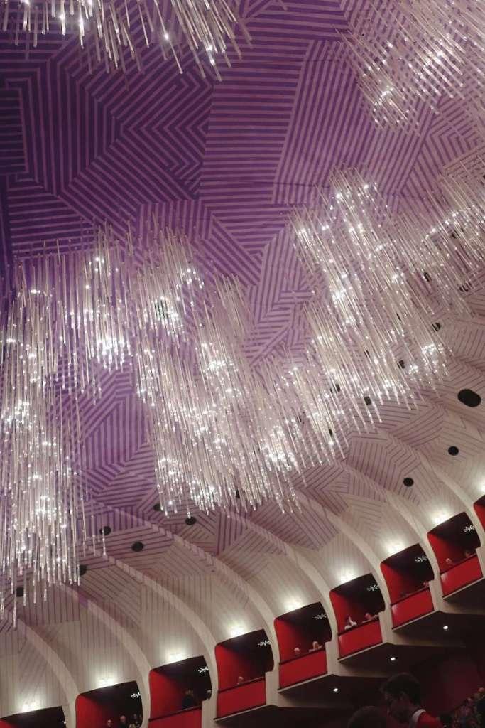 Gli interni del teatro Regio di Torino