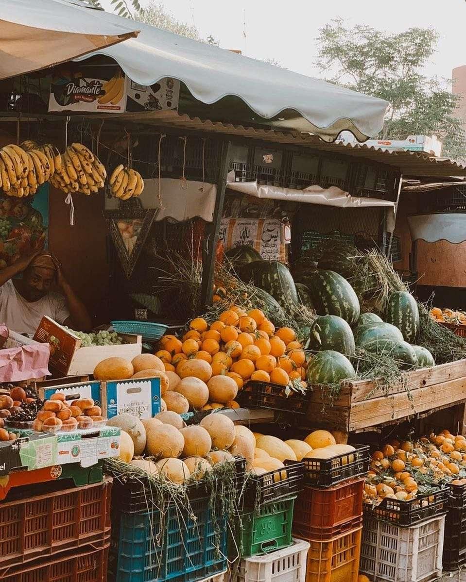 andare al mercato