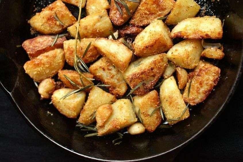 patate con la crosticina