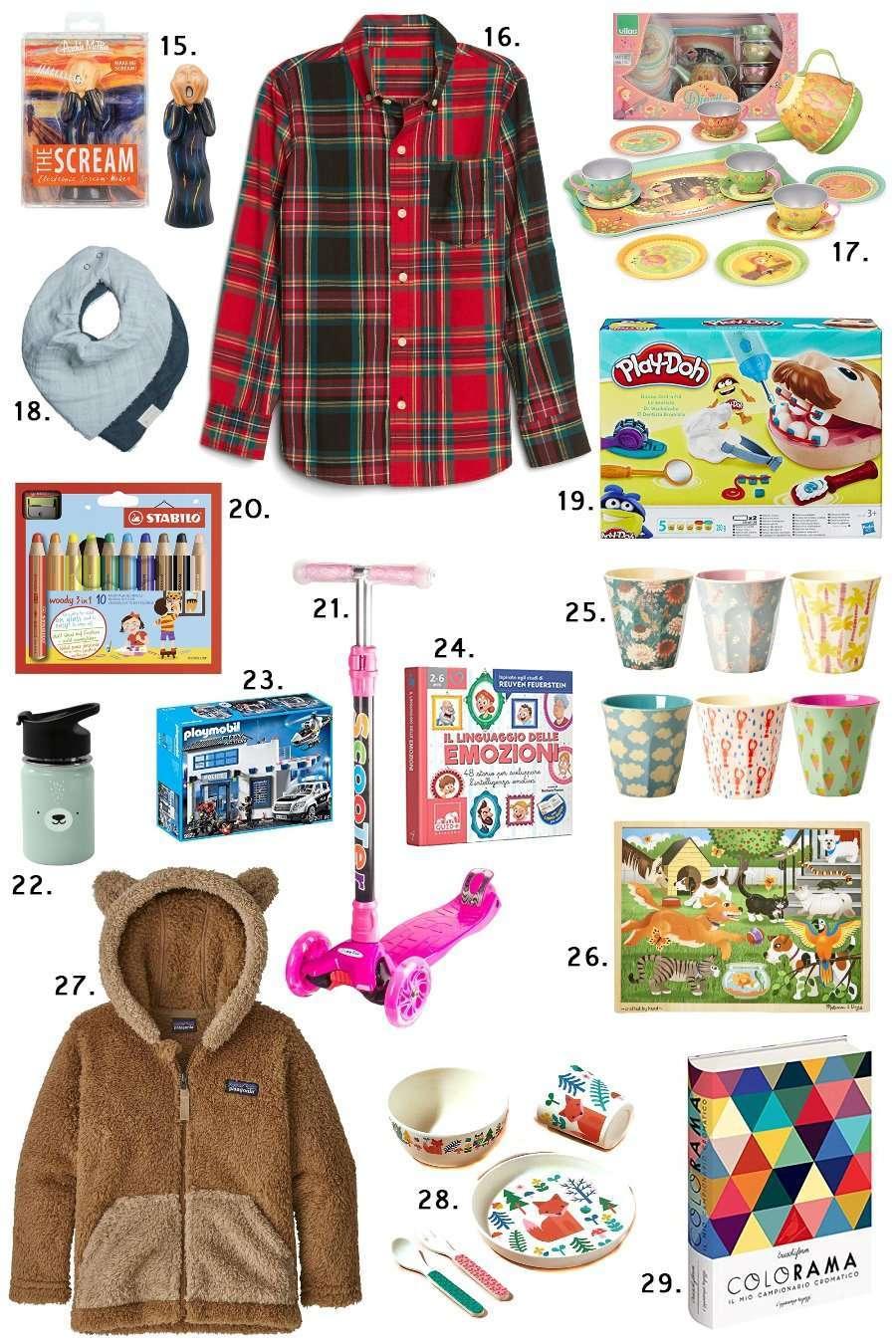 idee regalo per i bambini