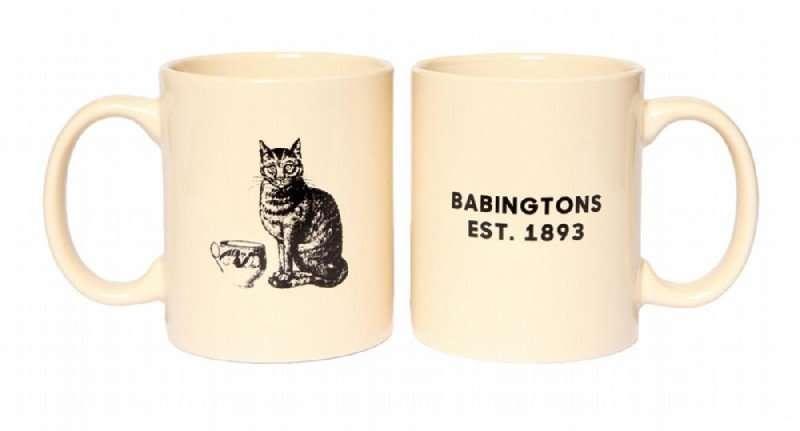 babingtons mug gatto