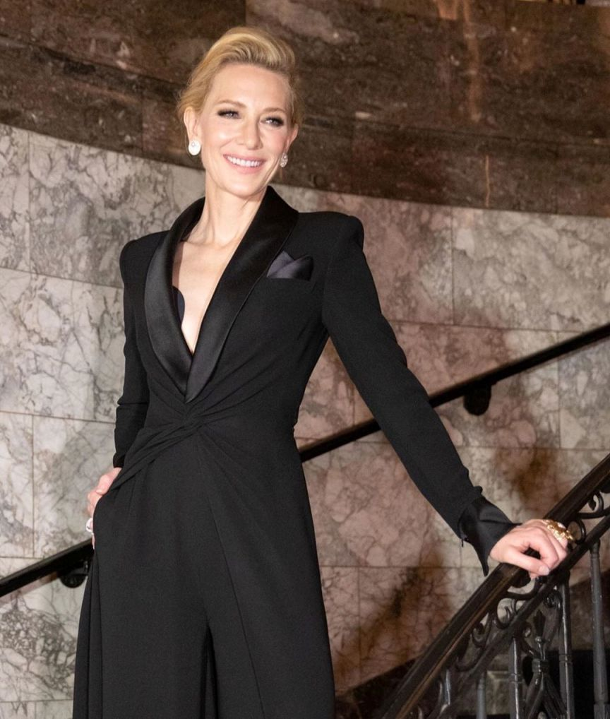 Cate Blanchett tuxedo