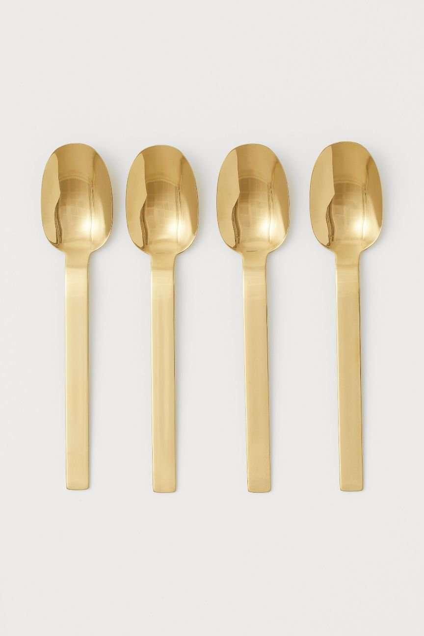 cucchiaini oro H&M
