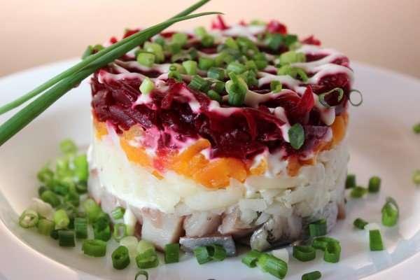 insalata russa aringa in pelliccia