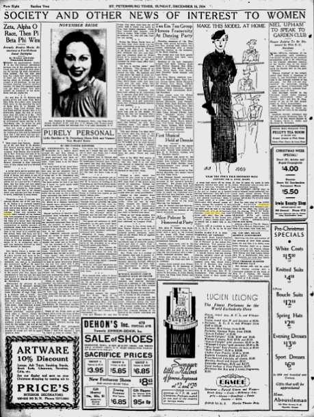 st. petersburg times 1934