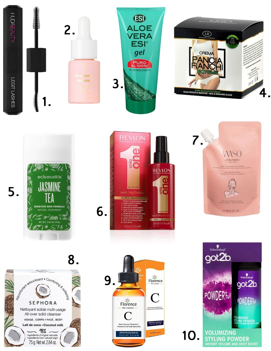 prodotti beauty da provare