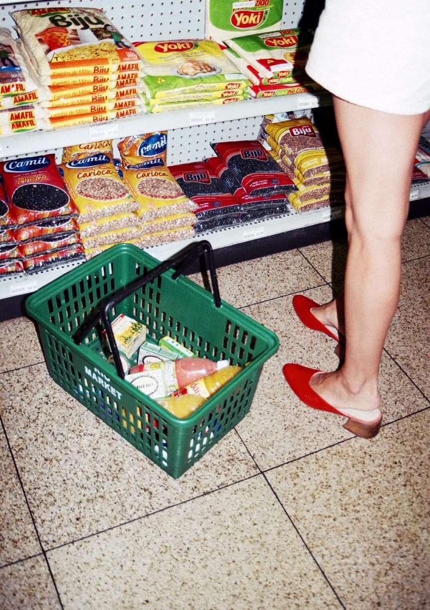 foto al supermercato