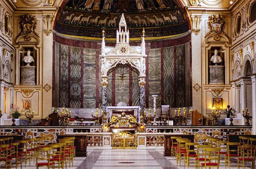 Santa Cecilia interno