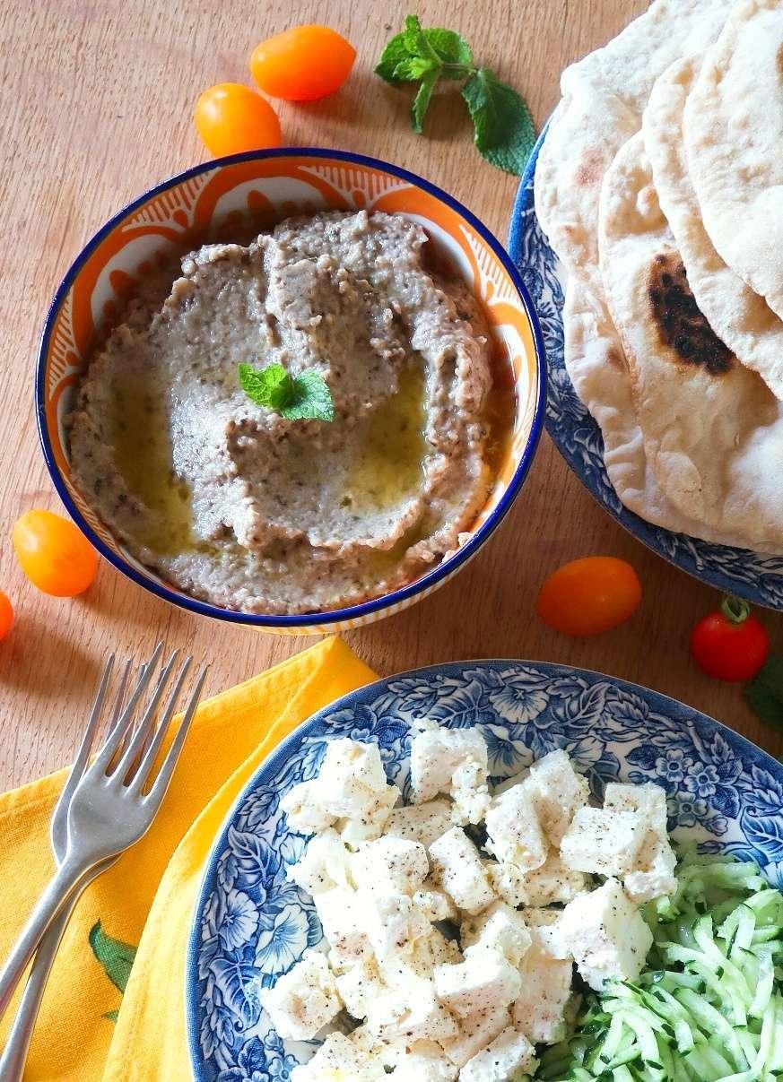 crema di melanzane greca