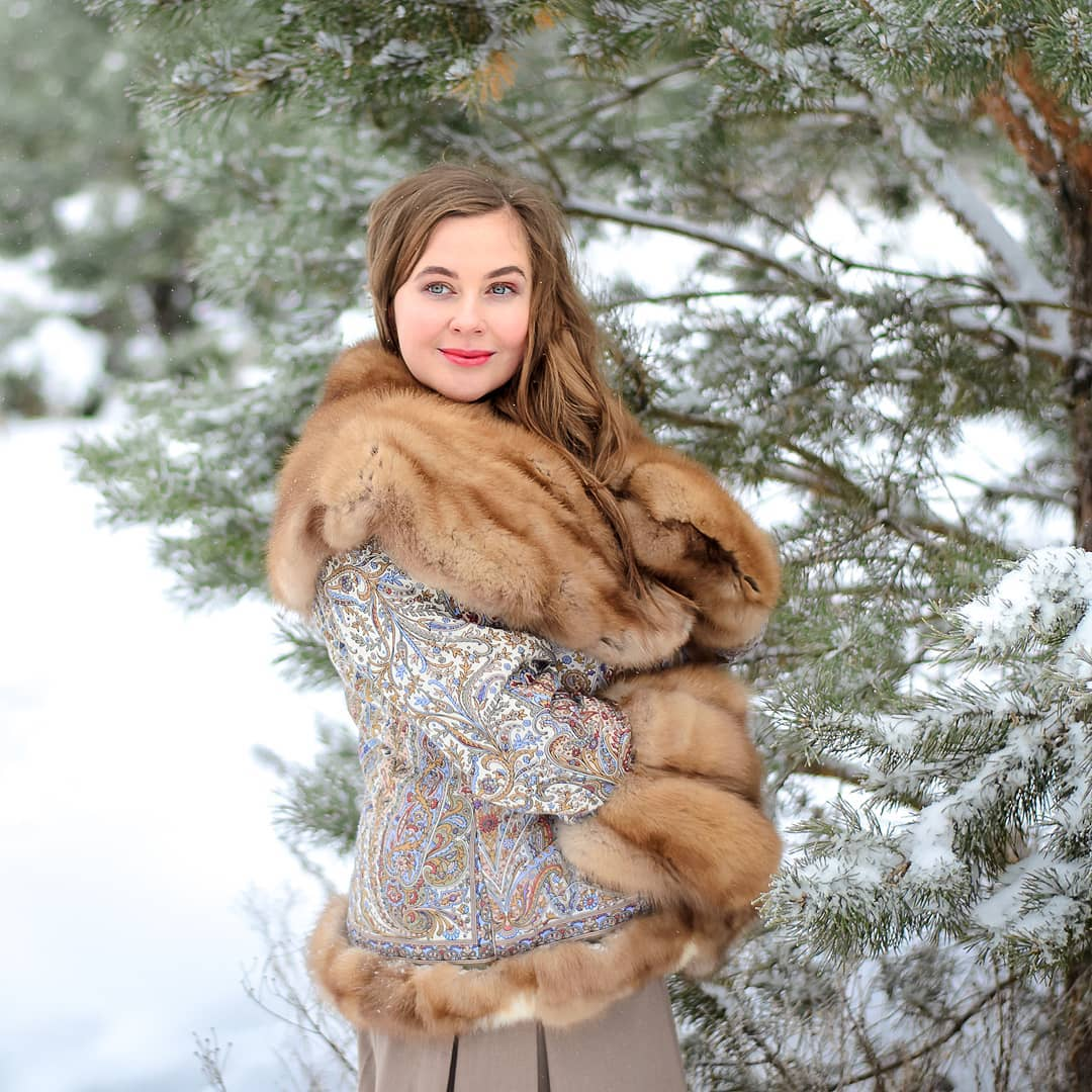 donne russe pellicce