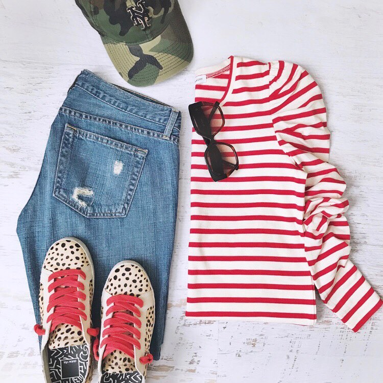 preppy style look