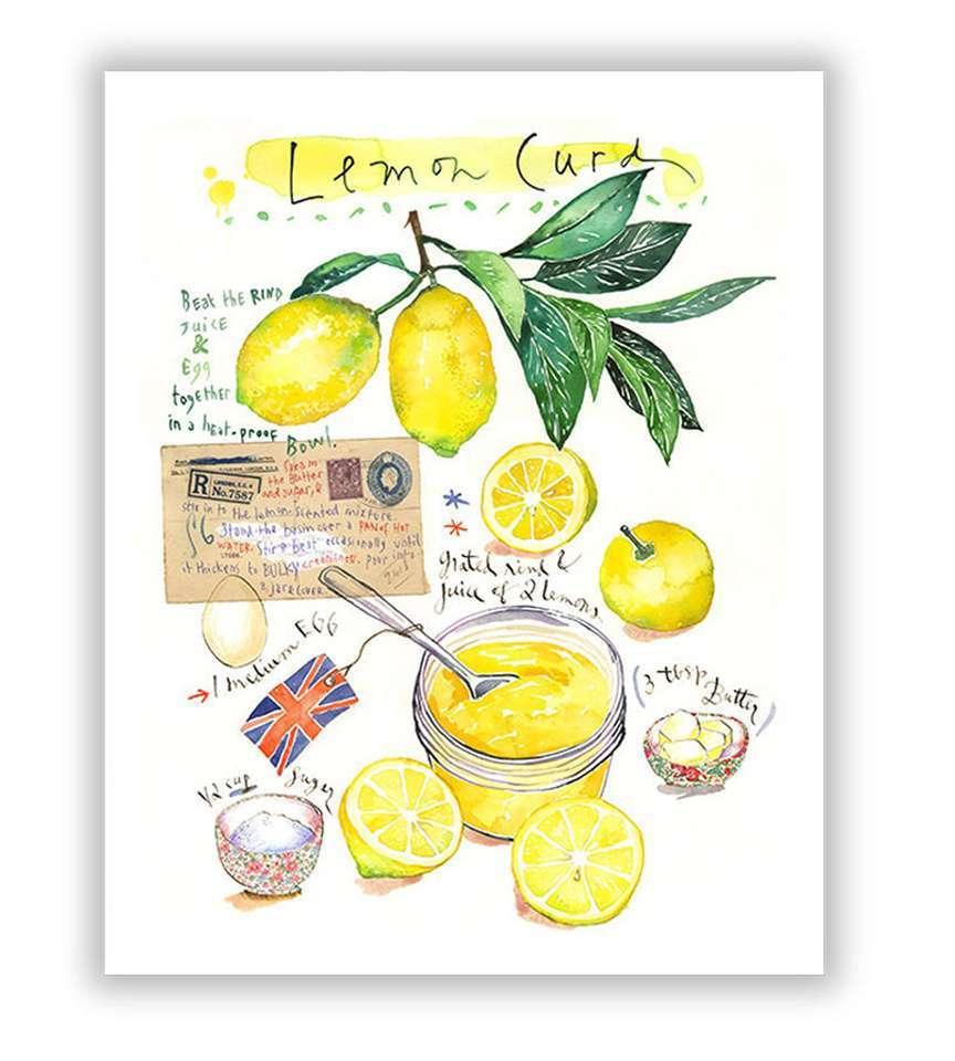 negozio stampe originali cucina limone