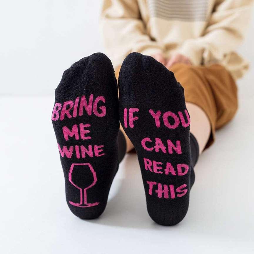 calzini per wine lover
