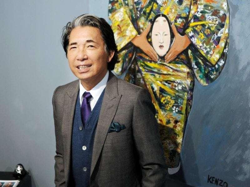 storia di kenzo - foto dello stilista