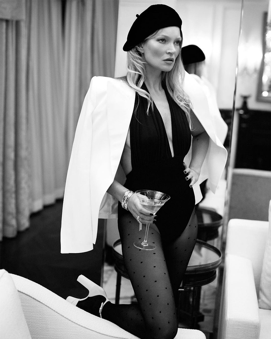 Kate Moss indossa un basco