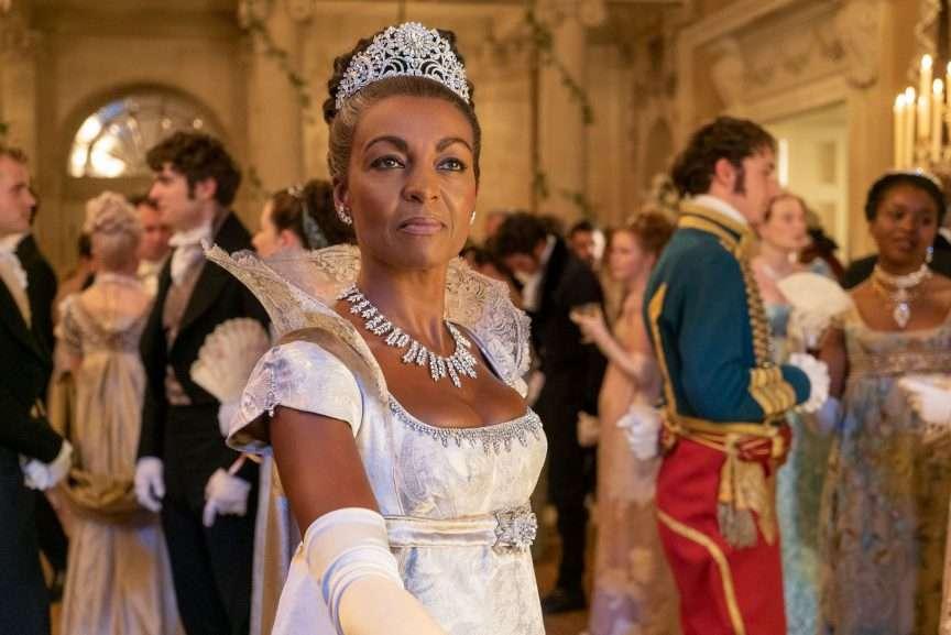 la regina nera di bridgerton