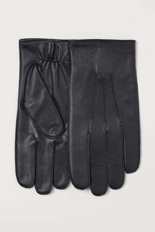 guanti classici neri